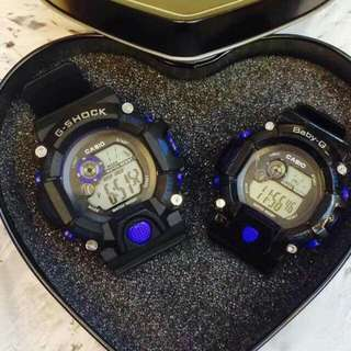 couple G shock watch