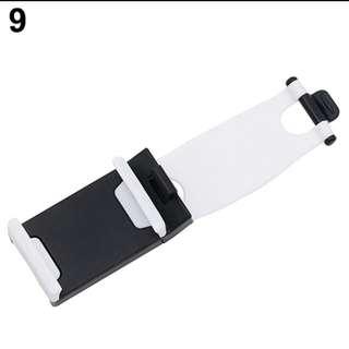 Car Steering Wheel Bike Clip Phone Socket Holder - Tempat Hp buat di mobil