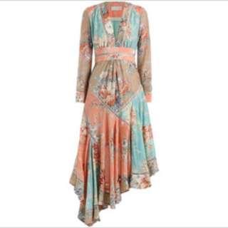 zimmermann anais antique floral dress