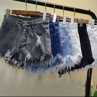 Denim shorts size S - XXL