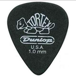Pick gitar dunlop tortex carbon