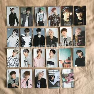 BTS Official Japan Press Photocards