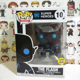 Funko Pop The Flash Silhouette Glow In the Dark Exclusive Vinyl Figure Collectible Toy Gift Comic Super Hero DC