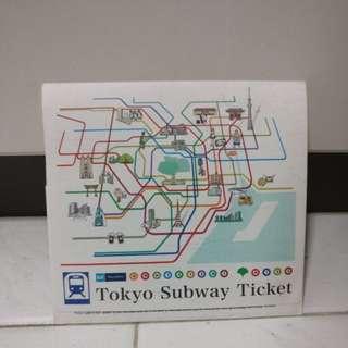 Tokyo Metro & Toei subway 3 days child ticket
