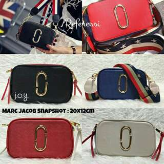 MARC JACOB SNAPSHOT 3 TONE ( REAL PICTURE)