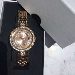 Luxurious Rose Gold Watch