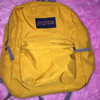 Jansport Yellow AUTHENTIC (PRELOVED)