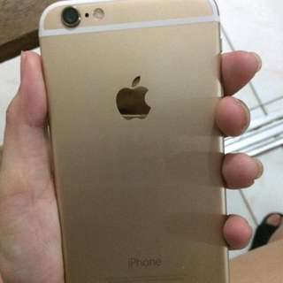 IPHONE 6 16gb Gold Globelock