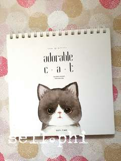 Cat notebook/ sketchpad