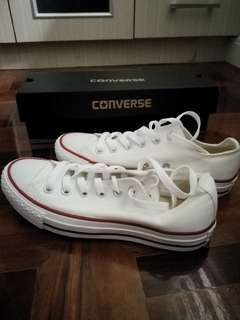 Converse All Star - White Sneakers 4.5 Men's