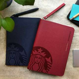 RED BLUE 2018 Starbucks Planner (Negotiate)
