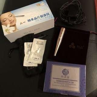 Microneedling facial equipment dermapen, dermaroller, nano needle