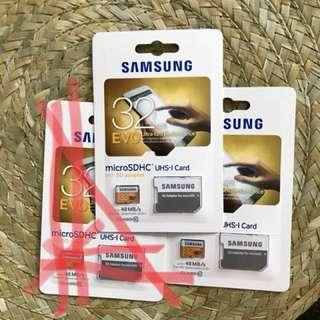 WTS/ WTT : Brand New Samsung 32GB EVO class 10 Micro SD Card
