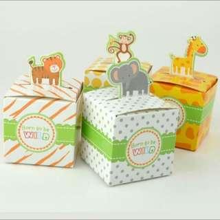 Safari candy box