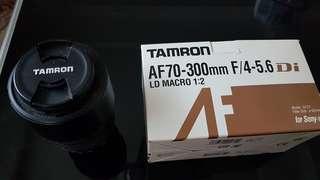 Tamron lens 70-300 sony mount