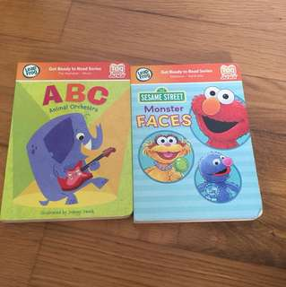 Leap frog get ready to read series - 2 books