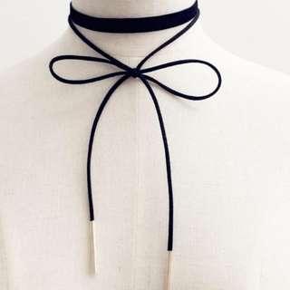 Shoelace Choker