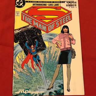 The Man of Steel (Mini-Series) #2 Collector's Set  1986 #comics #superman