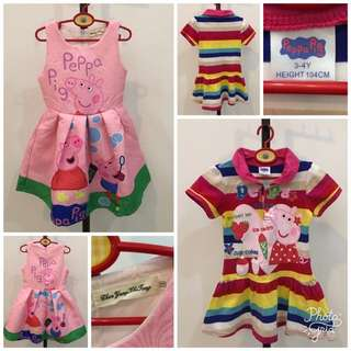 Peppa Pig Dresses Bundle