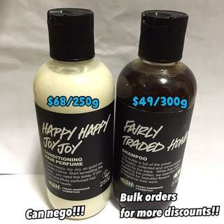 LUSH products! (CHEAP)