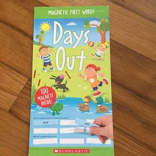 Scholastic magnetic first words (97pieces)