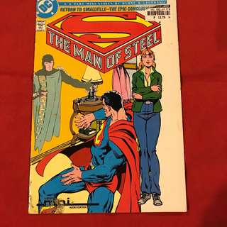 The Man of Steel (Mini-Series) #6 Collector's Set 1986