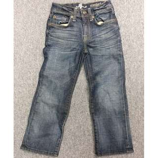 7 for all Mankind Washed Child Jeans