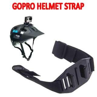TGP035 Adjustable Helmet Strap for GoPro Hero Sport Sony Camera