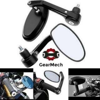 *New* Oval Bar End Mirror for Motorbike