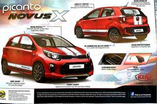 All New Picanto Novus X