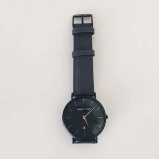 Abbott Lyon black & grey watch