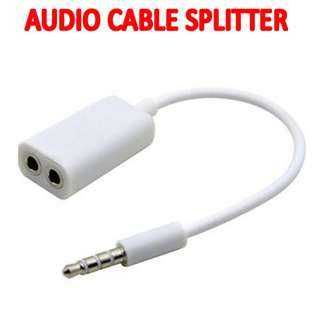 TVD007 3.5MM Stereo Headphone Audio Jack Splitter TVD007 3.5MM Stereo Headphone Audio Jack Splitter