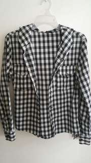 Checkered Unisex Polo
