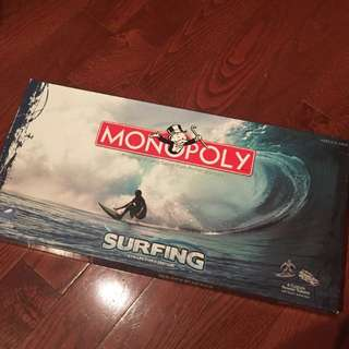 Collector's Edition of Surfing Monopoly