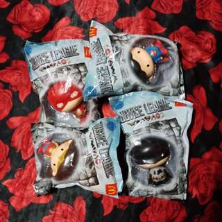 Justice League Happy Meal