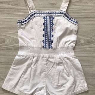 Janie and jack romper size 4