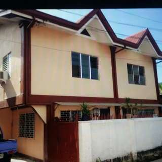B.Rodriguez Ext. Cebu city Semi Furnished Duplex House and Lot for sale