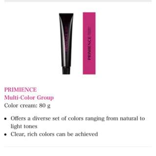 Shiseido hair dye