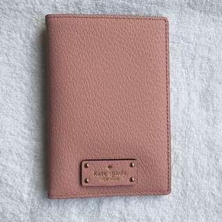 Kate Spade Pink Passport Holder