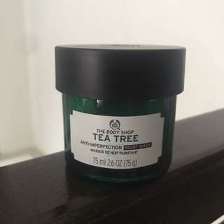 The Body Shop Tea Tree Sleeping Mask