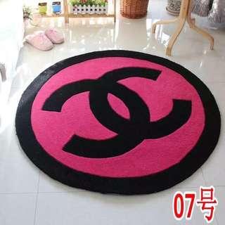 Chanel round carpet