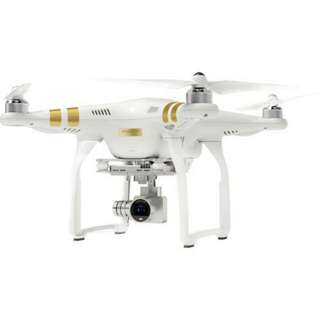 Kredit Tanpa Kartu Kredit DJI Phantom 3 Professional Quadcopter With 4K Camera And 3-Axis Gimbal