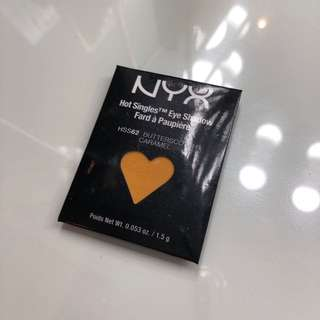 Nyx yellow eyeshadow single