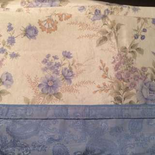 ice silk mat/bedding sheet with two pillow cover