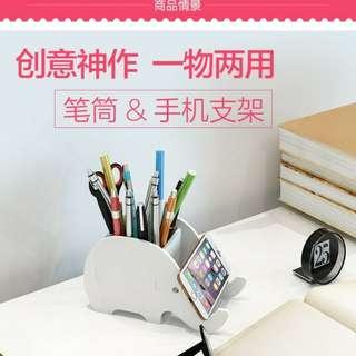 Rak serbaguna tempat pensil/handphone