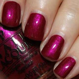 NEW OPI Pink nail polish in Thank Glogg it's Friday