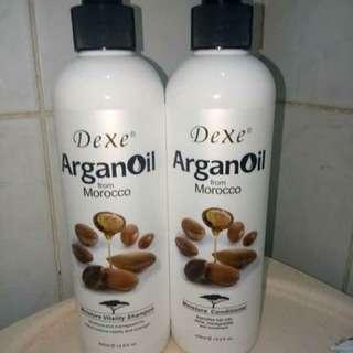 🌼🌼🌼DEXE ARGAN OIL SHAMPOO & CONDITIONER from MOROCCO🌼🌼🌼