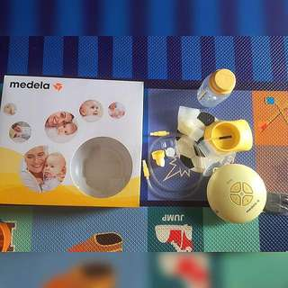 Breast pump Medela swing + cooler bag gabag POMPA ASI