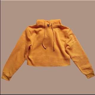 Cropped hoodie (orange)