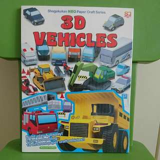 3D Vehicles (Shogakukan NEO Paper Craft Series)